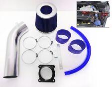 BLUE For 2003 2004 2005 2006 Nissan 350Z 3.5L V6 Air Intake System Kit + Filter