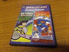 DC SUPER VILLAINS DOUBLE FEATURE: BATMAN: KILLER CROC/SUPERMAN: BIZARRO USED