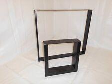 Tischgestell Tischfuß Tischkufe Kufengestell schwarz Tischkufen Tischbeine Kufen