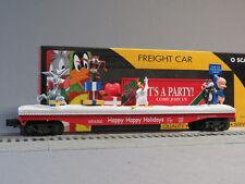 Kline Looney Tunes Holiday Operating Flatcar o gauge train K691-6302 NIB alt