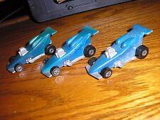 Vintage Lot of 3 Hot Wheels Hot Rod Custom Street Racer Modified Racers