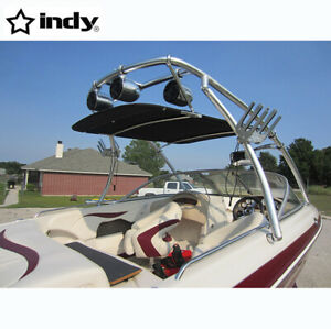 Indy Universal Wakeboard Tower Bimini 1580V black canopy