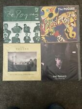 "THE POGUES 4x12"" Fiesta, Misty morning, brown eyes, should fall from grace with"