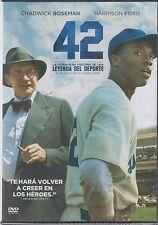 DVD - 42 La Verdadera Historia De Una Leyenda Del Deporte NEW FAST SHIPPING!