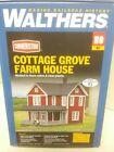 Cottage Grove Farm House LED Walthers Model Railroad Building Kit 933 - 3664 HO
