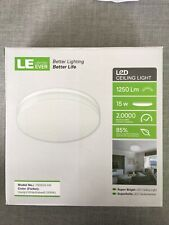 LED Panel Light. Round. Bright. 15W Surface Mount Ceiling, Bathroom, Kitchen