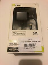 😍 telephone muvit chargeur apple iphone ipod ipad secteur lightning connector