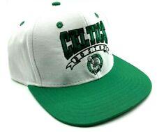 BOSTON CELTICS HAT NBA BASKETBALL CLASSIC VINTAGE RETRO ADIDAS SNAPBACK CAP NEW