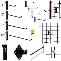 Gridwall Hooks Hangers Display Craft Art Show Stand Grid Rack 12/24/50/100 Pack