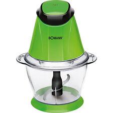 Bomann MZ 449 Picadora multiusos1 litro, función pica-hielo, 250 W, verde