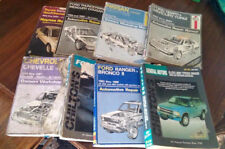 Lot of 8 Automotive Car Repair Manuals Manual **LOOK**
