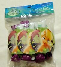 NEW   DISNEY ~ TINKERBELL ~ 8-PARTY BLOWOUTS- PARTY SUPPLIES - FAVORS