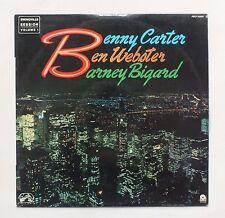 33 TOURS - Benny Carter Ben Webster & Barney Bigard - SWINGVILLE SESSION VOL. 1