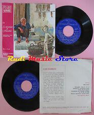 LP 45 7'' LE AVVENTURE DI PINOCCHIO 14 fiabe sonore SILVERIO PISU cd mc dvd