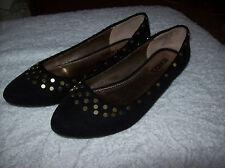 Bongo Womans Shoes Size 6M Black