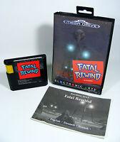 FATAL REWIND für Sega Mega Drive - MD Spiel Modul komplett mit Anleitung und OVP