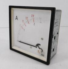Amperemeter mw   0-2,5 A   90 x 90 mm