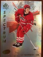 16-17 UD SP Authentic Spectrum S-8 Jeff Skinner Unscratched