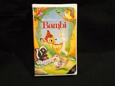 Walt Disney Black Diamond Classic Movie VHS Bambi Rare Video Tape