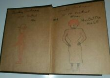 Vintage Original Outsider Folk Naive Raw Brut Art Drawing Painting BOOK Antique
