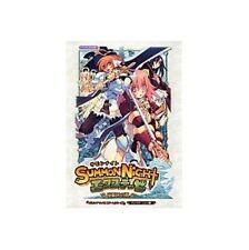 SUMMON NIGHT extenze Yoake no Tsubasa official guide book / PS2