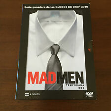 MAD MEN - SEASON 2 COMPLETE - SERIES TV - 4 DVD - 600 MIN - 13 CHAPTERS