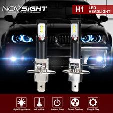 Nighteye Pair H1 LED Fog Light Bulbs Bright 6500K White 80W 1600LM High/low Beam