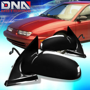 FOR 1996-2002 SATURN SL SW PAIR OE STYLE POWERED SIDE DOOR MIRROR REPLACEMENT