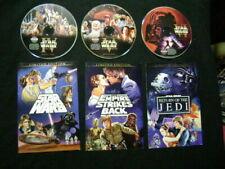 ✅ STAR WARS Original Theatrical Trilogy Versions Release Cut 3 DVD Han Shot 1st✅