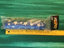 FLITE old school BMX Straight Bar pad Blue /& White Star Made USA NOS vintage rar