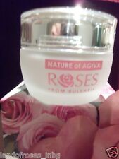 DAY FACE CREAM ROSES  WITH  PURE ROSE WATER MOISTURIZING REVITALIZING 50ML.