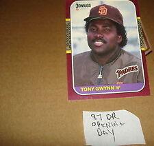 Open-Minded Tony Gwynn 1983 Topps # 482 Rookie Card ** Great Card--sharp *** Sports Mem, Cards & Fan Shop