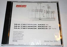 schéma circuit électrique sur CD Ducati Multitrada 1200  /S / S TOURING ABS 2010