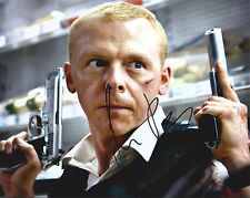 Simon Pegg signed 8X10 photo @ Authentic @@ Star Trek Hot Fuzz World's End