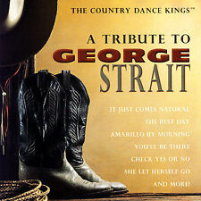 FREE US SHIP. on ANY 2 CDs! ~LikeNew CD The Country Dance Kings: Tribute to Geor