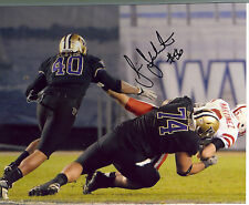 Senio Kelemete Signed Mason Foster 8X10 Washington PHOTO w/ COA Autograph