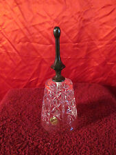 Vintage Bell Royal Crystal Rock Bell With Silver Plated Handle Made In Italy