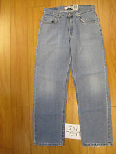 Used 559 relaxed straight fit levi's jean tag 33x32 meas 31x31.5 zip7599