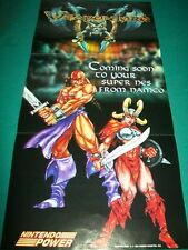 WEAPON LORD ~ WEAPONLORD New ORIGINAL VideoGame POSTER 11X22 Super Nintendo SNES