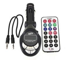 4 in 1 Car MP3 Player Wireless FM Transmitter for SD/MMC/USB/CD Remote