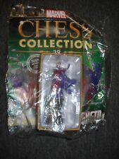 Eaglemoss Marvel Chess Piece MAGNETO black king Figure w/Issue #39 NEW