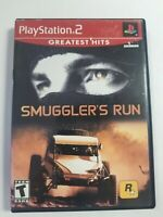 PS2 Smuggler's Run (Sony PlayStation 2, 2002) Complete Tested