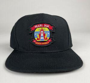 Pearl Jam 2014 North American Lighting Bolt Snapback Baseball Hat