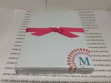 HALLMARK LETTER M MONOGRAM NOTE PAD New in sealed plastic 150 sheets of paper