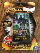 NEW REDAKAI Stack To Battle 3D Animated Blast3D X-drive Power Pack 11 Cards