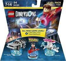 Lego Dimensions Back to the Future Level Pack 71201 New / Sealed