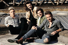 """ONE DIRECTION / 1D - MUSIC POSTER / PRINT (ROOFTOP) (SIZE: 36"""" x 24"""")"""