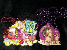 2003 Krewe of Bacchus Float Theme Beads Fantasy World Mardi Gras