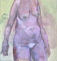 Brigitte Tietze Berlin Ölgemälde Porträt Weiblicher Akt 3 Expressiver Realismus
