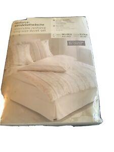 Fabulous Continental Reversible King Size Duvet Set New Packaged Pure Cotton